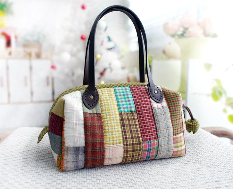 patchwork diy sac-a-main-tutoriel-fabrication