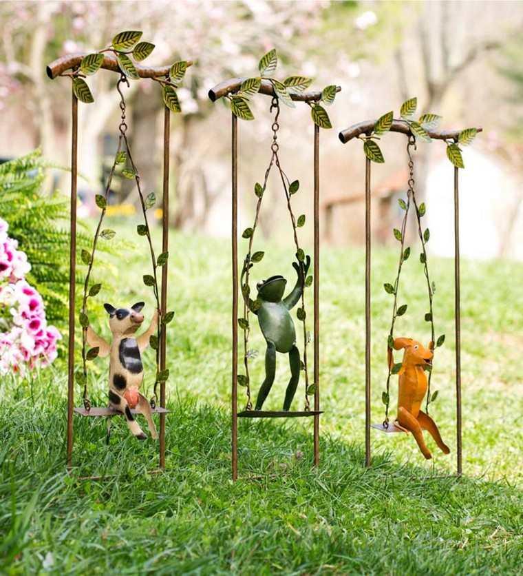 idée déco récup diy jardin espace