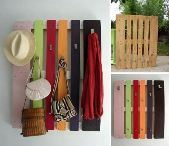 Nouvelle vie pour objet ordinaires déco couleurs bois