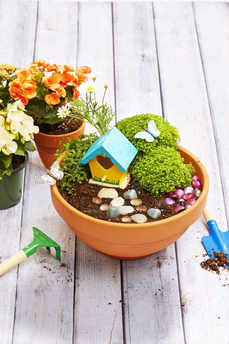 idée récup déco jardin extérieur intérieur recycler original