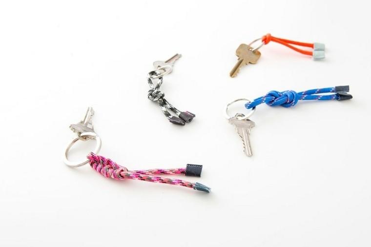 noeud marin porte clé modele porte clé bricolage corde