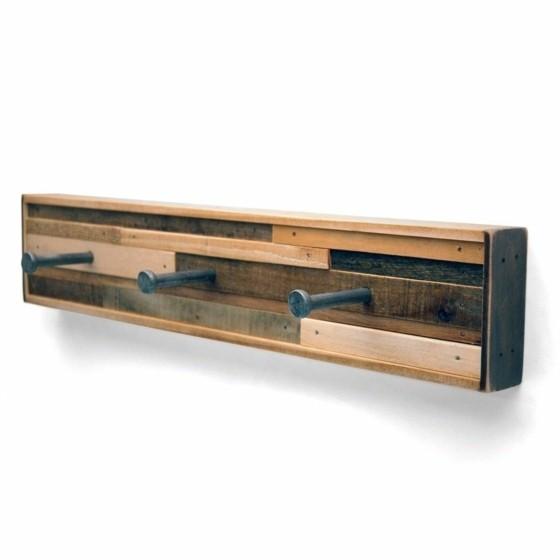 bricolage mobilier design porte-manteau en bois pas cher