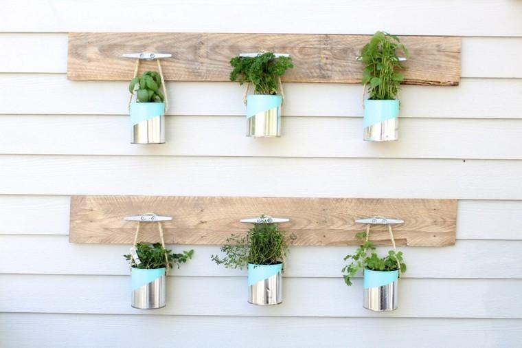 pot plante mur déco optimiser espace