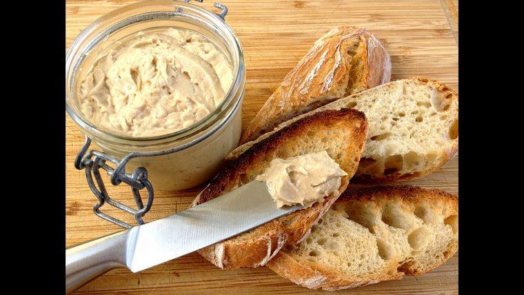recette pique nique beurre anchois