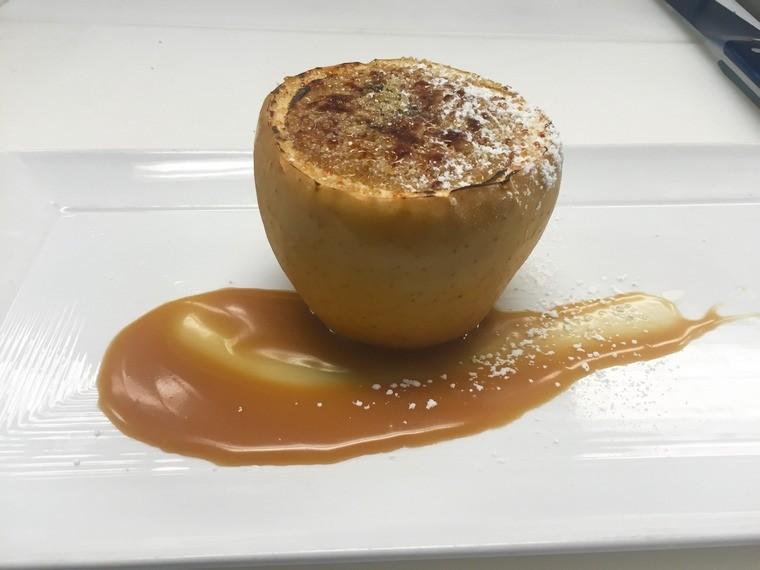 recette pique nique crème pomme