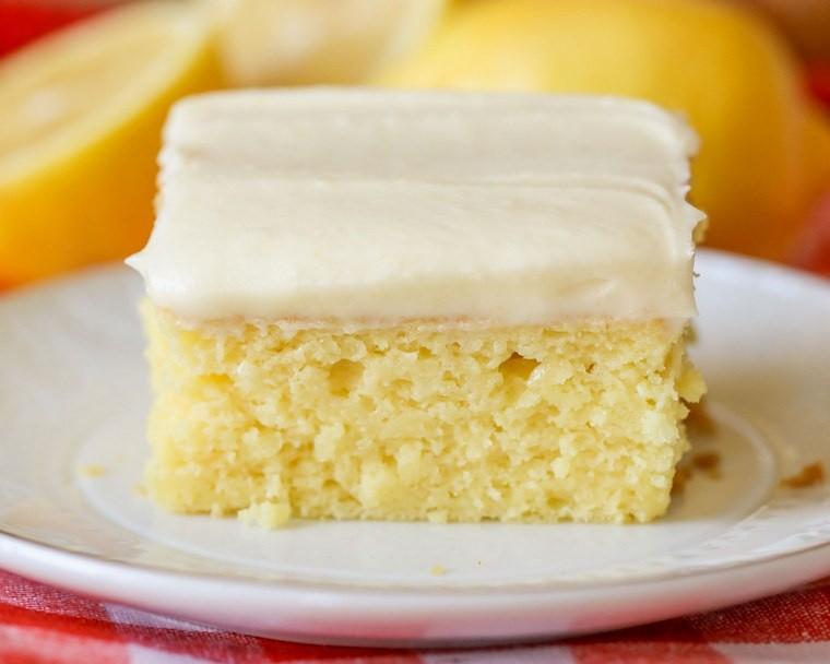 recette pique nique gâteau citron