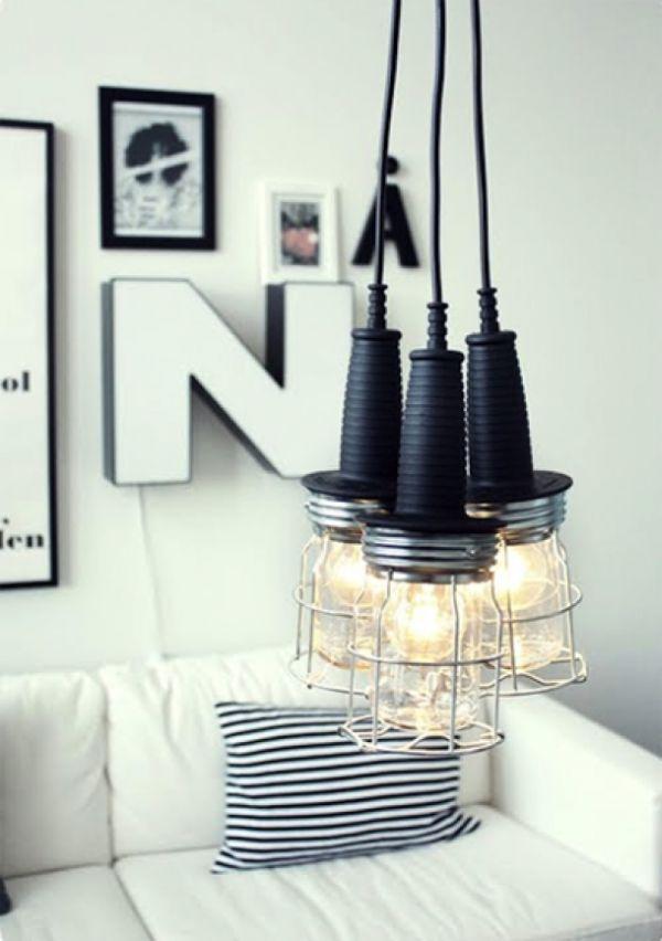 DIY ampoules decorées
