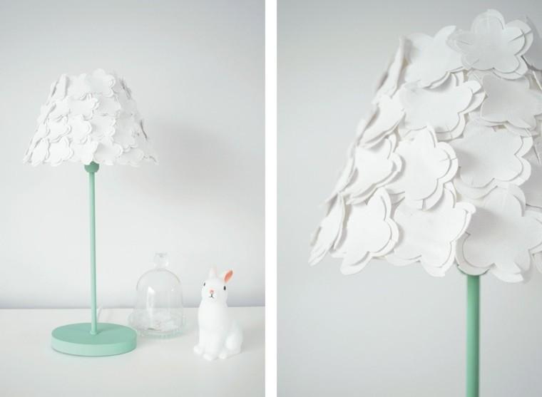 abat-jour fabriquer papier idée lampe à pied