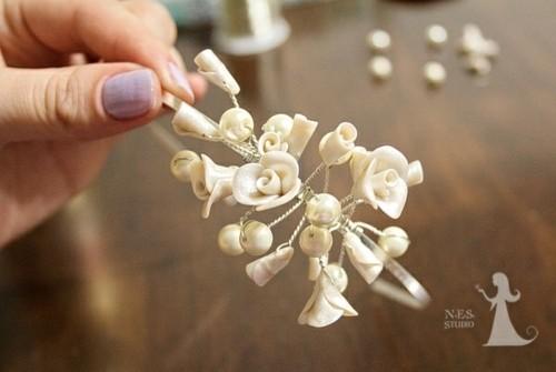 accessoire mariage petites fleurs