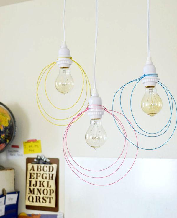 deco DIY lampes