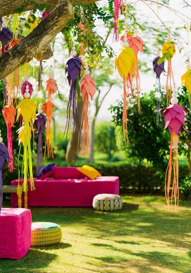 canapé terrasse extérieur idée aménagement jardin déco facile diy