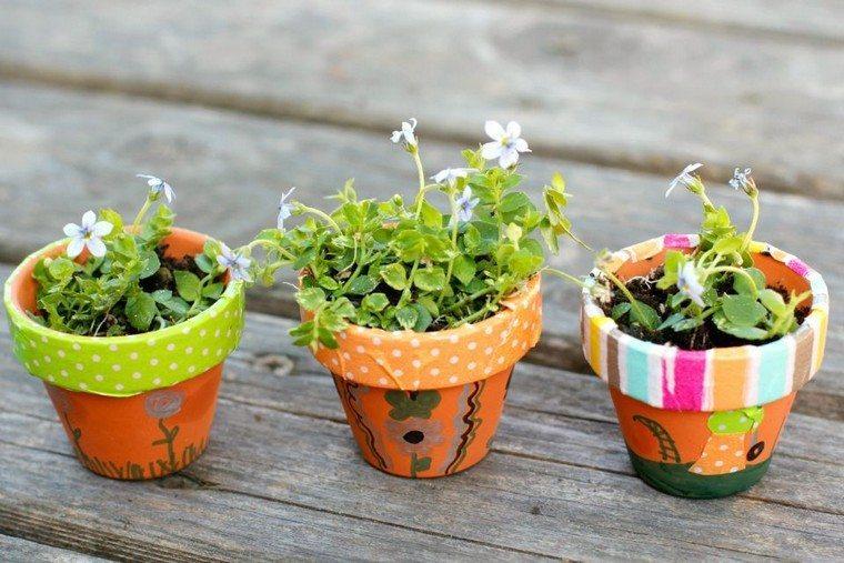 pot plante idée déco jardin facile