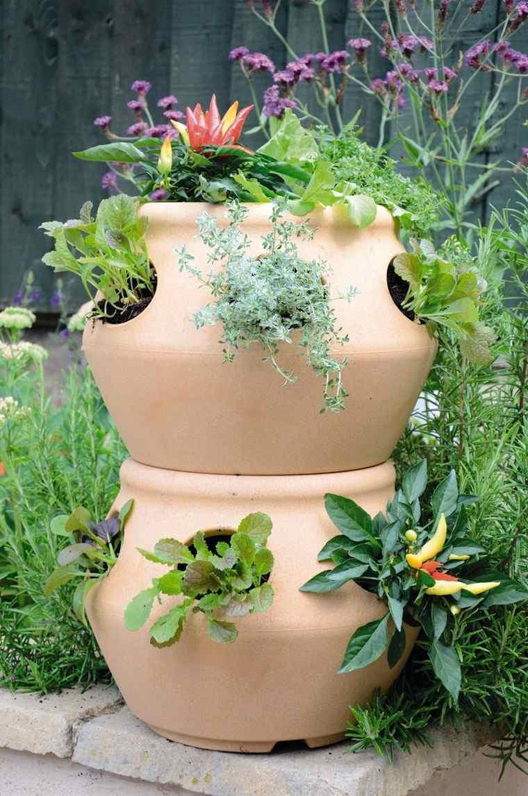récup jardin déco idée extérieur aménager espace