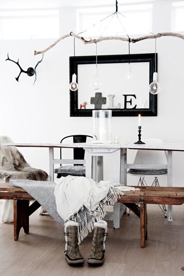 suspensions luminaires intérieur DIY
