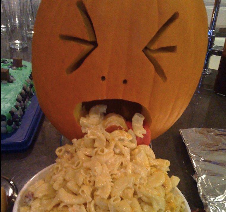 Halloween-citrouille-pates-au-fromage