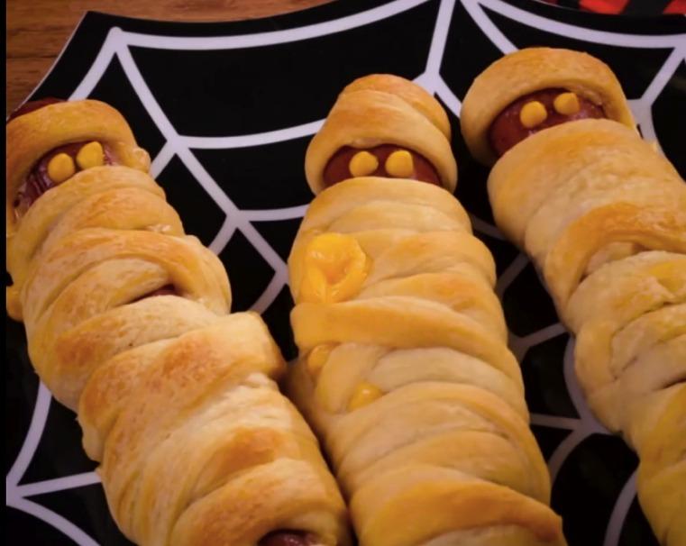 Repas spécial Halloween Hot-dog-momie2