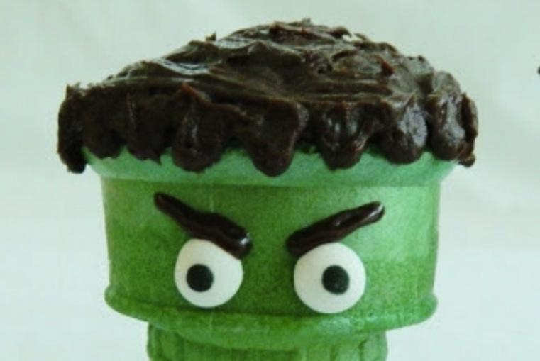 Repas-special-Halloween-Cones-cupcake-effrayants2