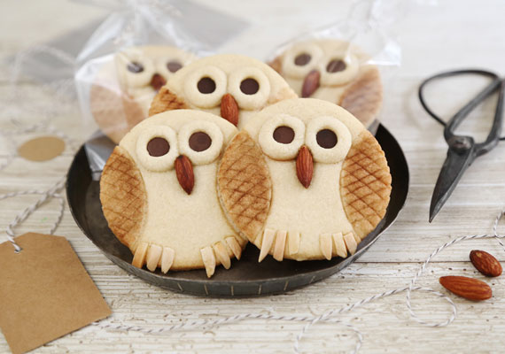 Atelier pâtisserie : mes biscuits « hibou »