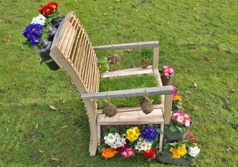 meuble récup déco jardin idée