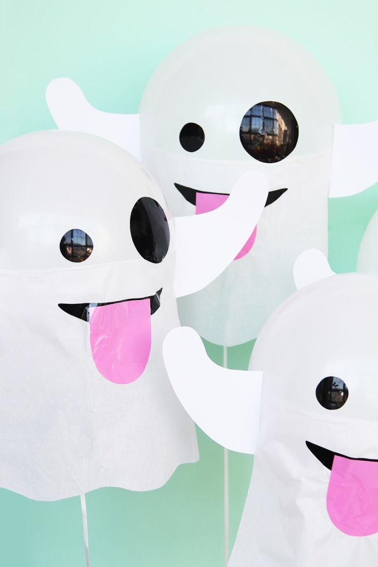 Fabriquer Une Pinata Facile Et Rapide 4 idées d'halloween décoration avec fantômes à fabriquer soi