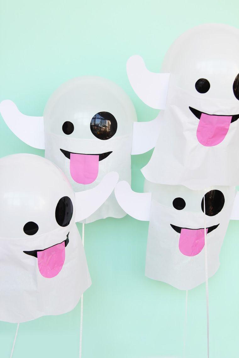halloween décoration fantome-ballon-a-faire-soi-meme