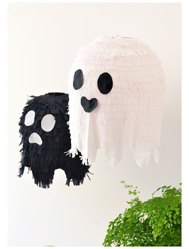 halloween décoration fantome-bricolage-pinata