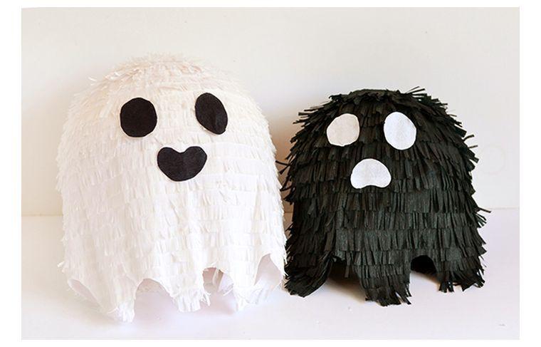 halloween décoration pinata-bonbons-enfant-idee-creative