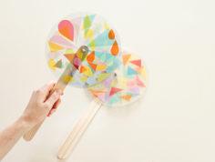 DIY – Réaliser un moulin des couleurs