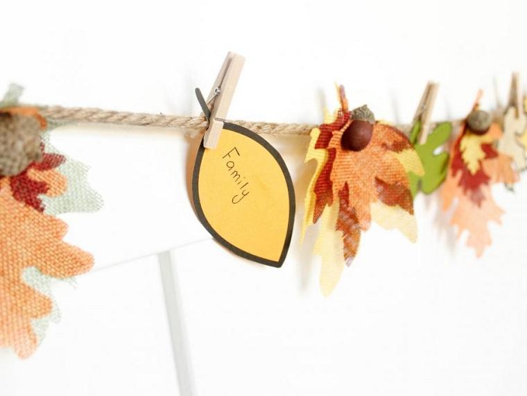 activités automnales avec feuilles diy à découper