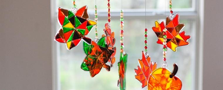 diy déco feuilles arbre automne