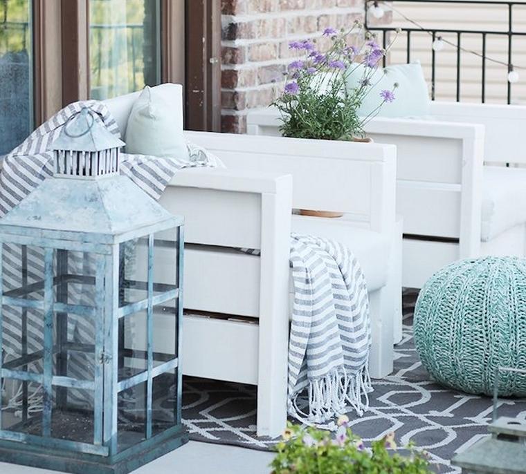 mobilier de jardin pas cher idée diy récup