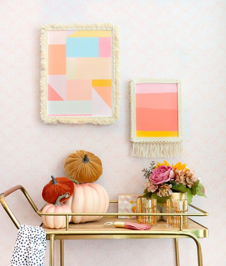 idée de DIY décoration d'automne