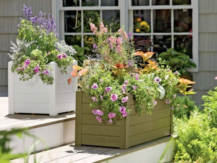 jardinière palette bois-diy-modele-bricolage