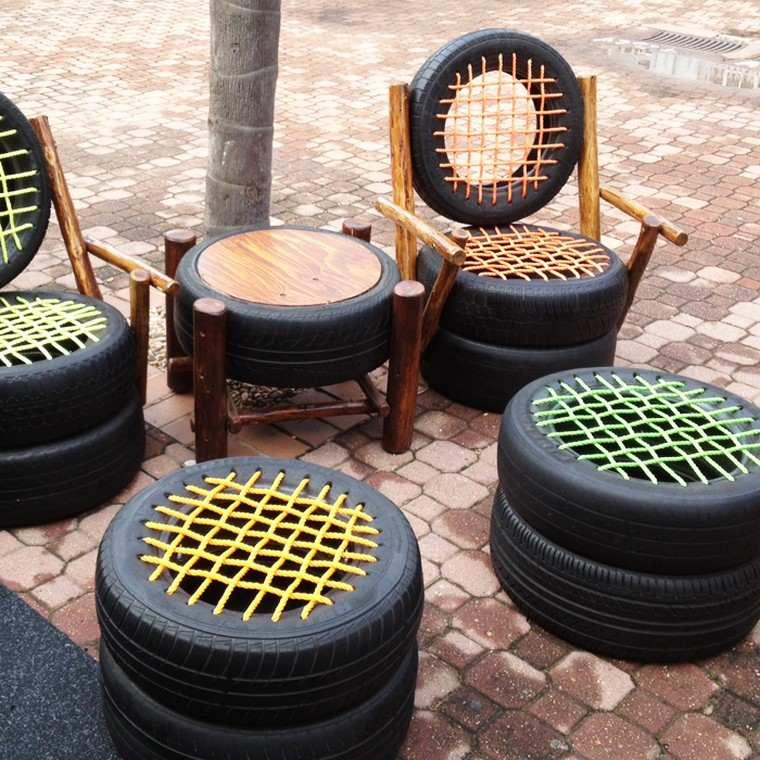 pneu-pouf-idee-mobilier-de-jardin-pas-cher