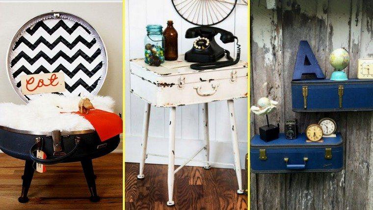 mobilier e jardin pas cher valise récup