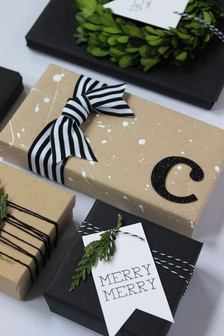 activités manuelles noël emballage-cadeau-idees-