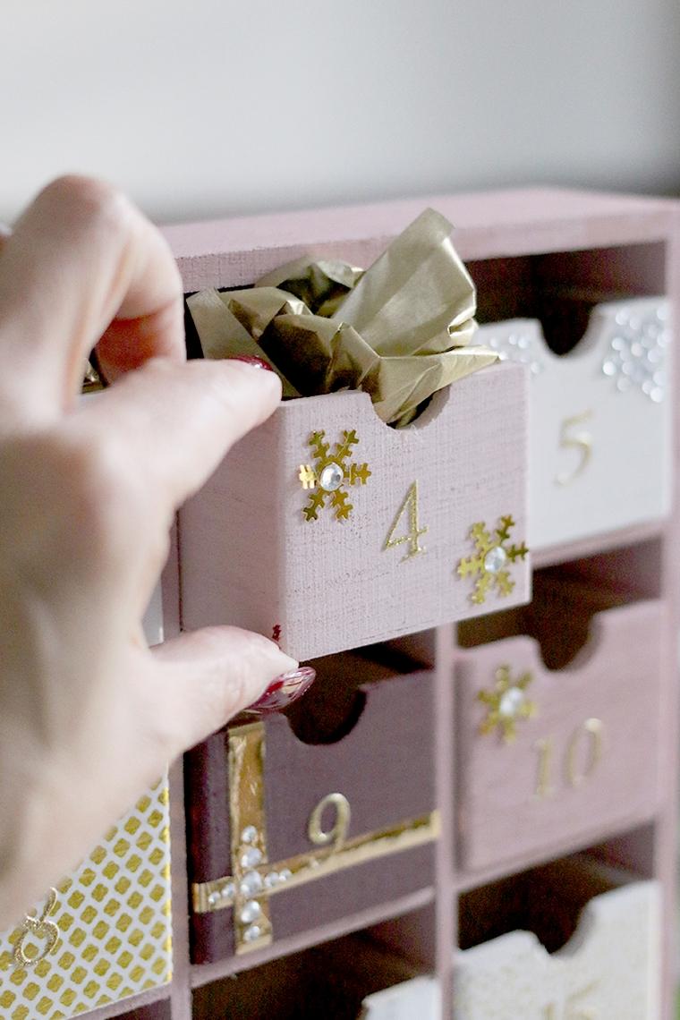 calendrier de Noël luxueux
