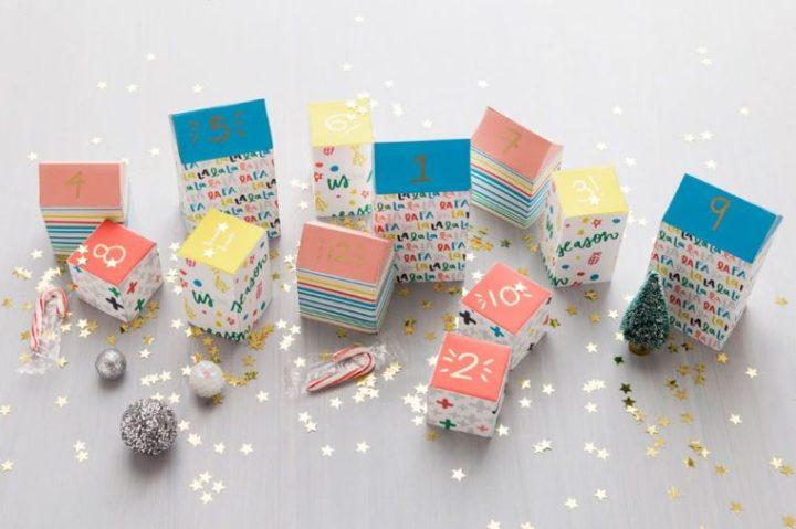 Faire un calendrier de l'Avent DIY – 5 idées créatives pour votre déco de Noël cette année