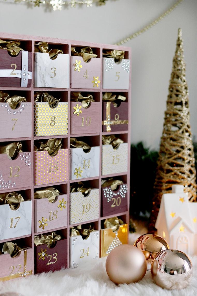 calendrier de Noël réutilisable
