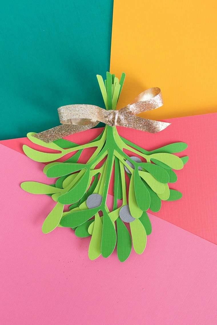 décoration de Noël à fabriquer en papier