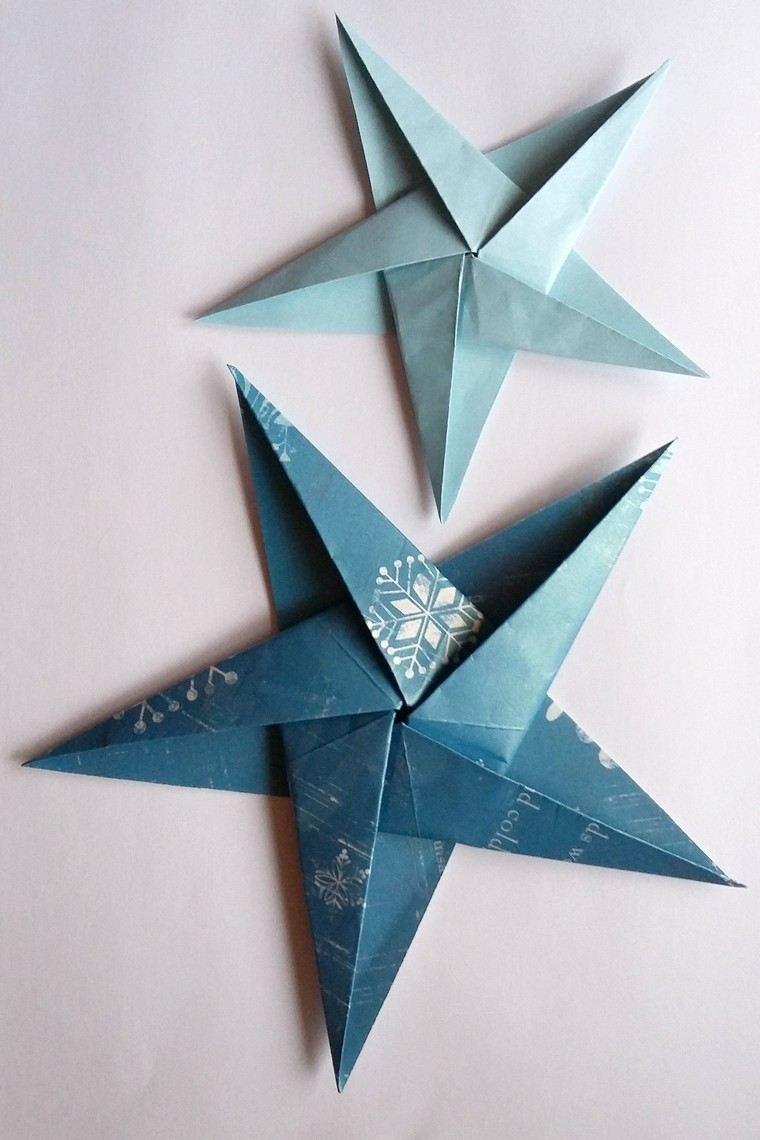 étoile origami modèle diy