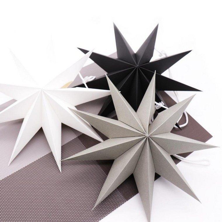 étoile en papier diy