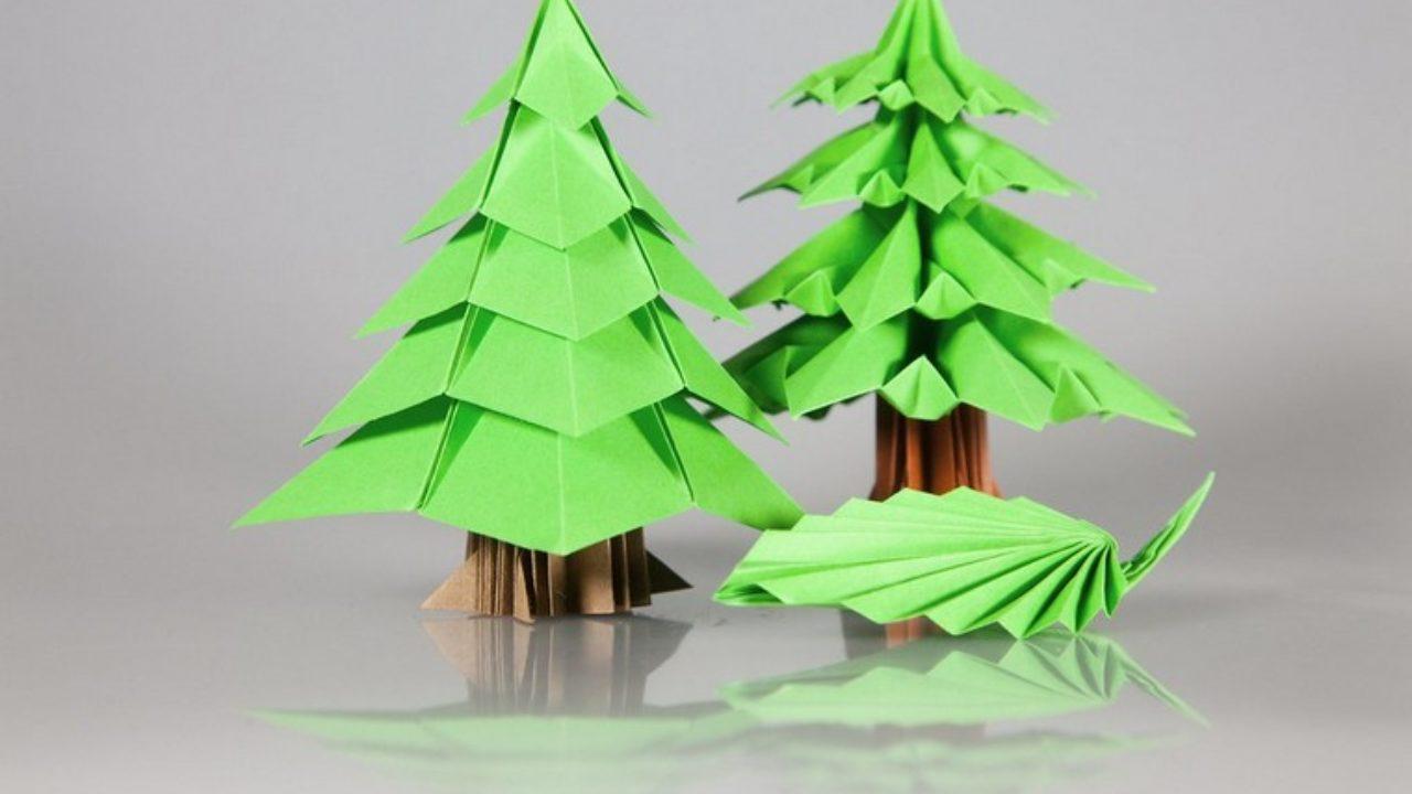 Fabriquer Sapin De Noel En Papier décoration de noël à fabriquer en papier facile - la maison diy