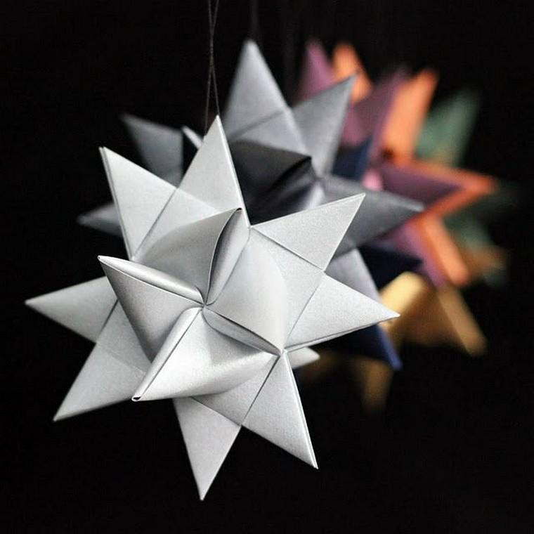 décoration de noël à fabriquer en papier idée