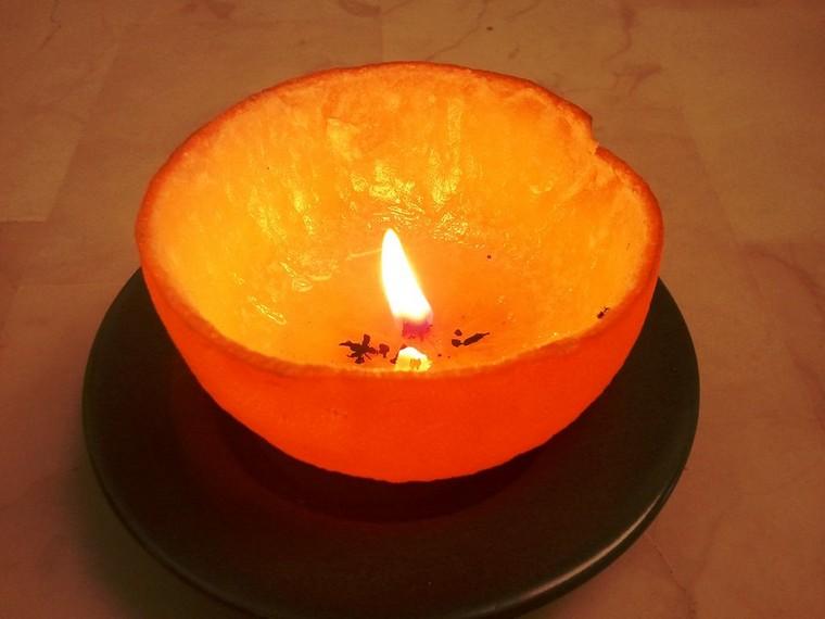 diy bougie orange déco noël fabriquer soi-même