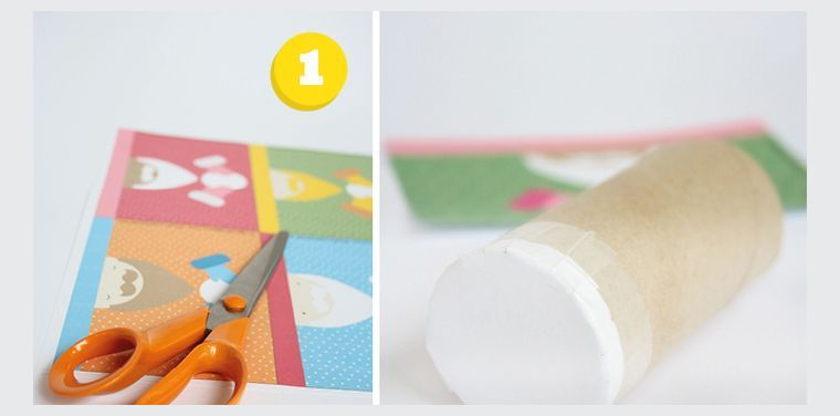 fabriquer-un-calendrier-de-l'avent-en-rouleau-de-papier-toilette
