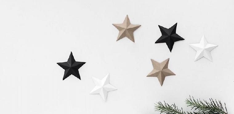 faire-ses-propres-decorations-de-noel-etoile-en-paper