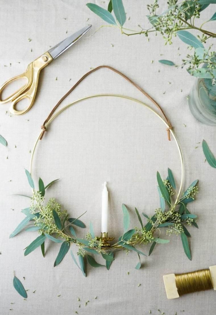 décoration noël à fabriquer pour adultes couronne noël diy