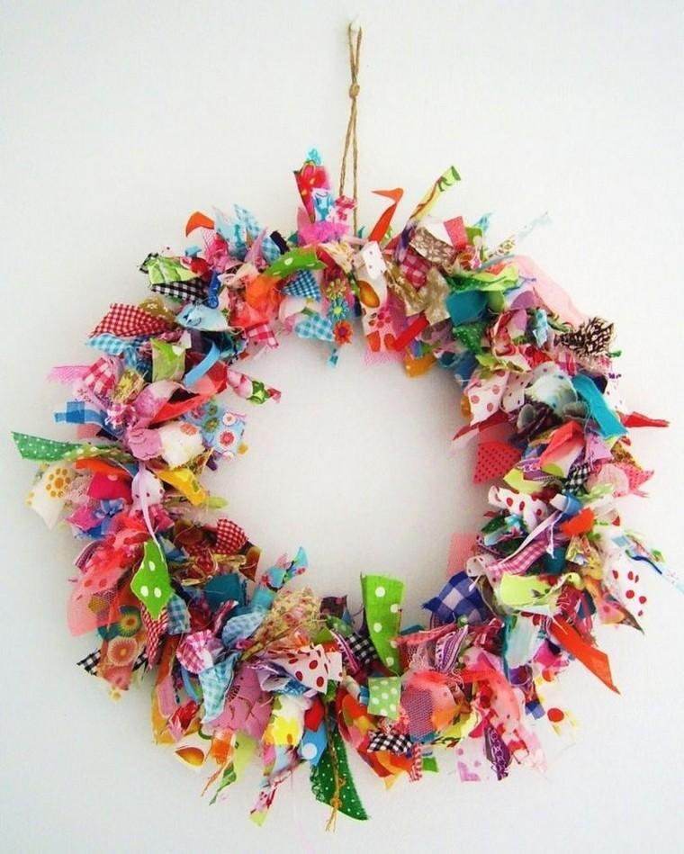 couronne-tissu-decoration-de-noel