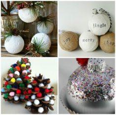 Décorations de Noël DIY en 50 idées créatives